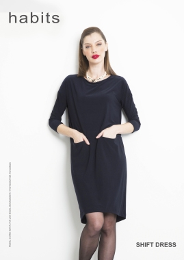 DS027 Shift Dress